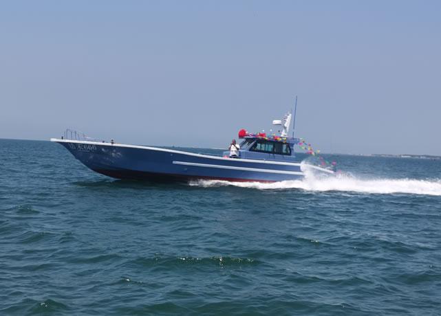 14.88m working transport boat