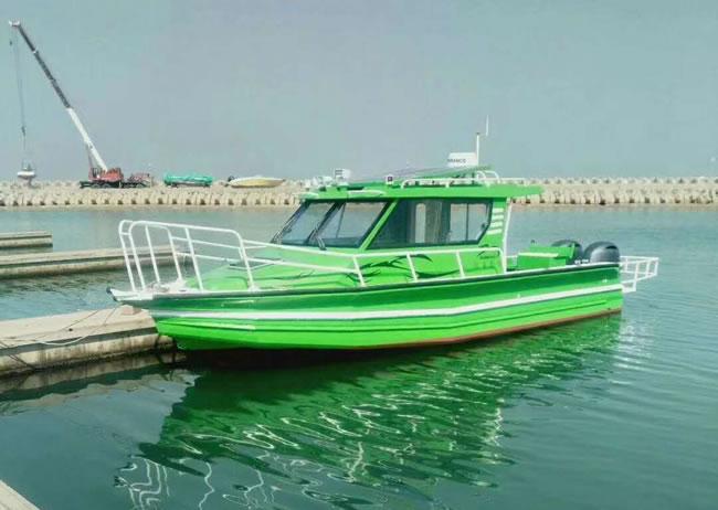 9.8m Australian pontoon fishing boat