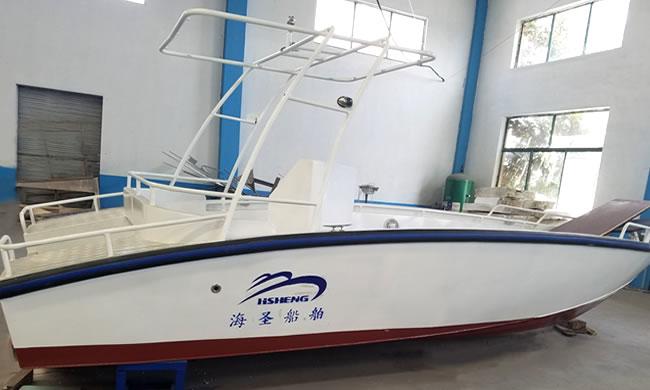 Hs6500 aluminum alloy speedboat