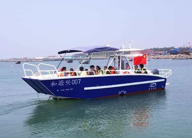 7.89m sightseeing boat