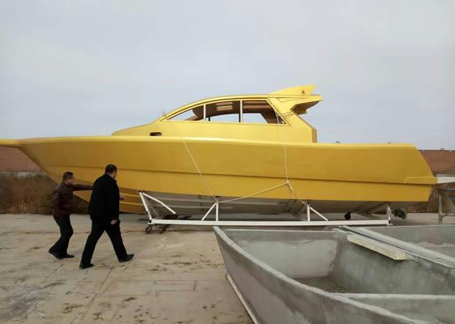 Hs-1200 luxury yacht