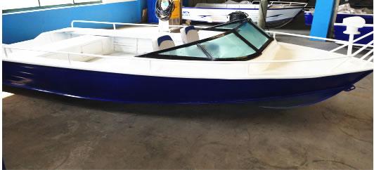Small aluminum alloy Leisure Boat Series 2