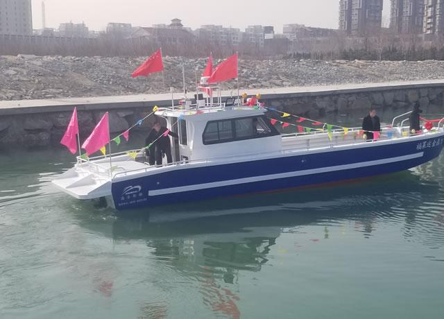 13m diesel working boat