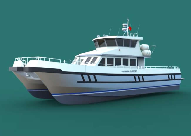 Official law enforcement boat